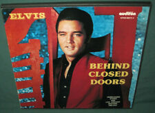 Elvis Presley BEHIND CLOSED DOORS 4 LP SET Audifon AFNS-66072 NM 1979