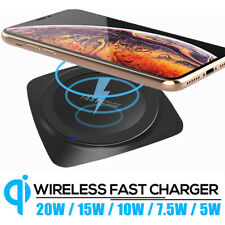 For Samsung S11/S10+ iPhone 11 Fast Wireless Charger 20W Quick Charging Pad Mat