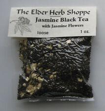 The Elder Herb Shoppe Jasmine Black Tea w/ Jasmine Flowers 1 oz. Loose