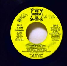 BEAN BROTHERS Thang Goin On Modern Soul Boogie 45  b/w Without You .Hear It!