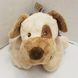 TaGgies Cuddle Buddy Dog Toy Plush Doll Brown Tan Snuggle Puppy  Baby Spots