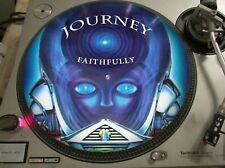 "Journey - Faithfully (Frontiers) Mega Rare 12"" Picture Disc Promo Single LP"