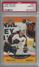1990 Pro Set #361 Paul Coffey PSA 10 GEM MINT Penguins AS