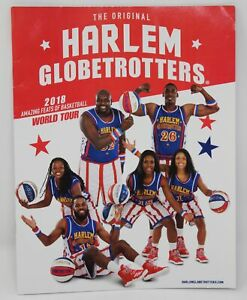 The Original Harlem Globetrotters 2018 Yearbook Souvenir Program Fan Media Guide