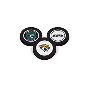 Team Golf 3 UNITS Jacksonville Jaguars Poker Chips Magnetic Ball Marker  2 Sides