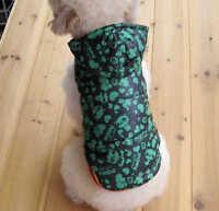 sehr warme Hundejacke Winterjacke Steppjacke mit Kapuze Hund Mantel musterG