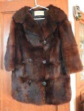 Vintage Gorgeous B. Forman Co. Fur Coat - Brown Color - Rochester New York