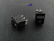 6 Pin Rocker Marine Switch XL601 T85  6A / 250VAC (x2) - Arduino / AVR