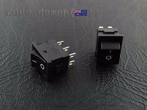 6 Pin Rocker Marine Switch XL601 T85  6A / 250VAC (x2) - Arduino / AVR