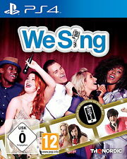 We Sing ps4 Playstation Distributeur Prix Stock 10 lots