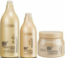 L'OREAL ABSOLUT REPAIR SHAMPOO 1.5 L + CONDITIONER 750 ML + MASQUE 500 ML