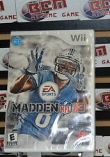 Madden NFL 13 Nintendo Wii *Factory Sealed! *WORKS ON WII U*