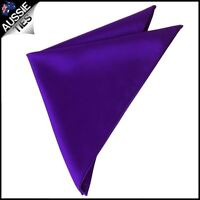 Mens Cadburys Amethyst Purple Pocket Square handkerchief hanky kerchief
