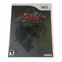 The Legend of Zelda: Twilight Princess (Wii, 2006) Complete w/Manual CIB