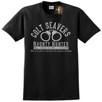 Colt Seavers Fall Guy Stuntman Inspired Mens T-shirt Tee - Retro USA 80's TV NEW