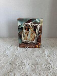 1995 Silver Stain Finish Wedding Photo Album Vintage Godinger