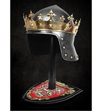 Robin Hood, King Richard The Lionheart Helmet and Stand Officially Licensed
