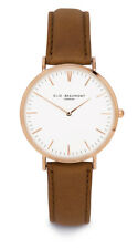 Elie Beaumont Camel Leather Oxford Ladies watch, 38mm face