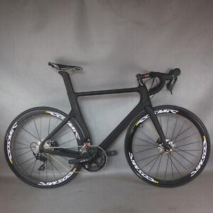 NEW complete bike Road bike disc brake internal cable R7020 bicycle bike TT-X3