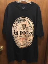 Guinness Extra Stout Black T-shirt XLT
