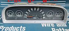 1960-63 Chevy truck deluxe speedometer gauge cluster C10 C20 K10 K20 Apache SWB