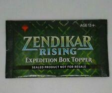 Topper de caja sellada Zendikar Rising expedición Pack en mano se envía al día siguiente