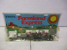 Ertl Farmland Express Massey Ferguson Lowboy with 2 Tractors 1/64