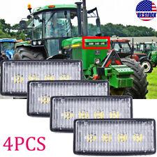 4pc Led Front Hood Light For John Deere 4055 4255 4455 4555 4755 4955 6000k