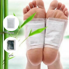 100Pcs Detox Fusspflaster Foot Pad Entgiftung Vitalpflaster Bambus Entschlackung