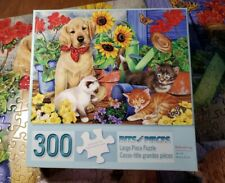 Bits And Pieces Large Piece Puzzle 300 Pieces Babysitting Complete