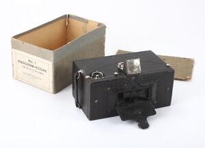 KODAK NO. 1 PANORAM, 2-1/4 X 7, INCOMPLETE BOX, MECHANISM ISSUE/cks/197510
