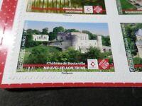 FRANCE 2019, timbre PATRIMOINE CHATEAU DE BOUTEVILLE, AUTOADHESIF, neuf**, MNH