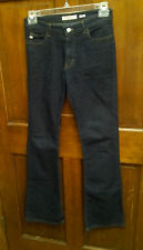Miss Sixty Basic Italy Tommy Style Jeans Flare Boot Cut Cotton Dark Wash SZ 29