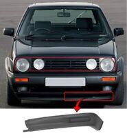 Vw Golf Mk2 Gti / Jetta A2 Gti 1989-1991 Front Bumper Spoiler Passenger Side New