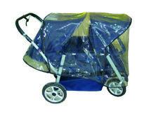 Regenschutz für Krippewagen 4 Sitzer Kinderwagen in Top Qualität 50705-1