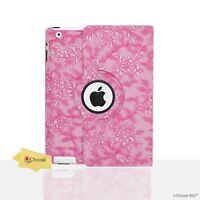 Floral Funda Cuero De Pu / para iPad Mini 1/2/3/4 / aire / 2 / Smart Libro Folio