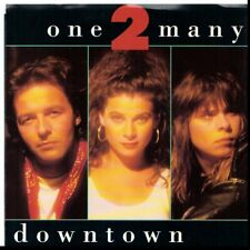 ONE 2 MANY DOWNTOWN/WELCOME TO MY CITY 45RPM  W/PIC SLEEVE