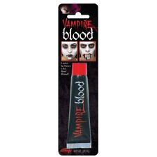 Qualité Vampire Sang 1oz Tube Faux Sang Halloween Maquillage Déguisement