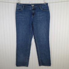 "J. Jill Women's Jeans Size 12 Boyfriend Medium Wash Distressed 29.75"" Inseam"