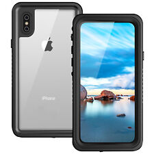 "Waterproof Case 6.6"" Underwater Shockproof Dirtproof Cover For Apple iphone X 10"