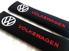 2pcs/set Universal Cotton Seat belt Shoulder Pads covers emblems VW Volkswagen