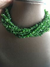 400cts Russian Chrome Diopside Nugget Roughly 250 Cm Strand SW1071