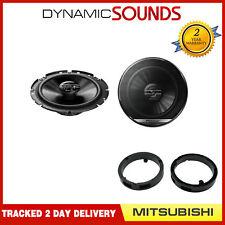 """Pioneer Front Door 6.5"""" Speaker Upgrade Kit for Mitsubishi Lancer Outlander"""