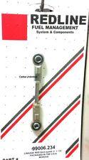 "4"" Universal adjustable Linkage Rod 1/2 +- adjust 8mm eye fits Weber Dellorto"