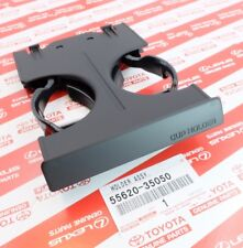 GENUINE OEM TOYOTA DASH MOUNTED DUAL PULL OUT CUP HOLDER 55620-35050