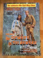 Schatz im Silbersee (Kinoplakat ´71) - Pierre Brice / Lex Barker / Karl May