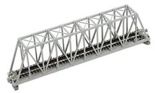 "Kato N Scale 9-3/4"" Truss Bridge, Gray"