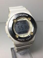 Casio Baby-G Shock Digital Watch White And Silver BG-1300 BG1300