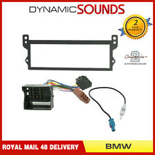 Car CD Radio Stereo Fascia Fitting Kit Aerial For BMW MINI ONE COOPER 2001-2006