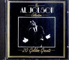 AL JOLSON The Collection - 20 Golden Greats CD Ottime Condizioni